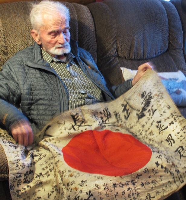 OBON SOCIETY receives WWII battlefield souvenirs that were carried home from war. These items are sent by veterans and their families, and come from every state across America and from as far away as Canada, Australia, The Philippines and beyond.
