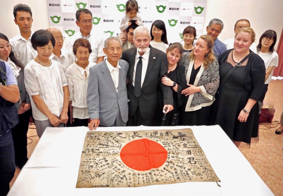 About 1.2 million Japanese soldiers vanished on the battlefields of WWII leaving millions of their children and siblings with the grief of a missing family member. The return of each item brings that missing person home in a spiritual way.